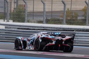 """Rejtélyes, de annál izgalmasabb Bugattit """"buktattak le"""" a Paul Ricard-on"""