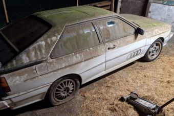 A német autógyártás dicsérete ez 20 év állás után feltámasztott Audi Quattro