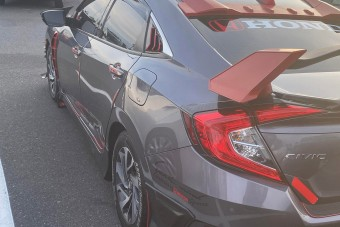 Borzasztó tuning vagy megérte ráönteni a pénzt? - Honda Civic