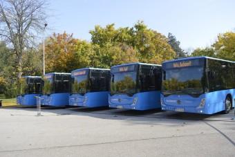 Új buszok a fővárosi és az elővárosi közlekedésben