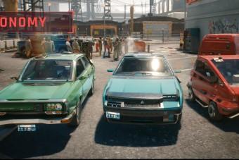 Itt az összes jármű, amit a Cyberpunk 2077-ben vezethetünk