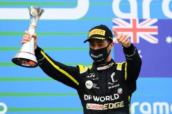 F1: Nagy sikertől fosztották meg Ricciardót