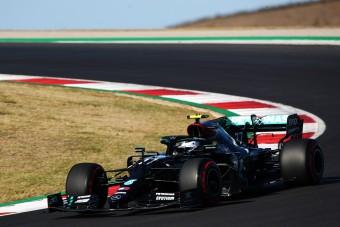 F1: A pályahibák sem állították meg Bottast
