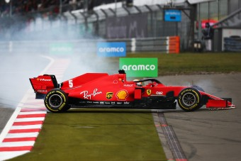 F1: Vettel teljesen elveszett a Nürburgringen