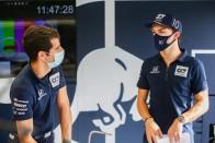 F1: Élete időmérőjét futotta Gasly 3