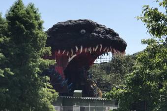 55 méter hosszú Godzillát építettek Japánban