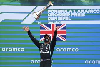 F1: Hamilton újabb mítoszt semmisített meg