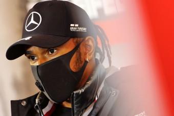 F1: Nem érzi jól magát a koronavírusos Hamilton