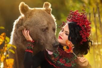 Oroszországban egy medve is lehet Insta-celeb