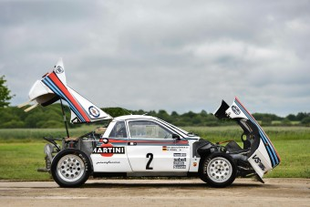 Walter Röhrl hajtotta ezt a legendás Lancia 037-est