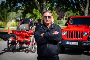 Lázár Zoltán világbajnok a KB Autoteam Jeep nagykövete (x)