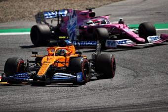 F1: Ismét beszólt a riválisnak a McLaren