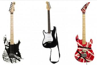 Most bárki megveheti Eddie Van Halen gitárjait
