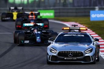 F1: De miért kellett a biztonsági autó?