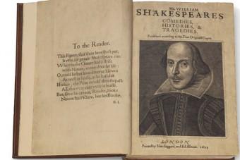 Milliárdokat fizettek egy ritka Shakespeare-kötetért
