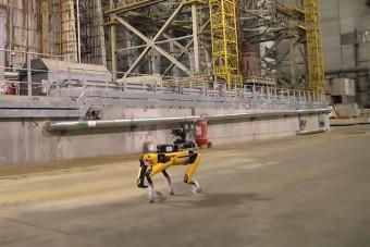 Csernobilba küldték dolgozni a robotkutyát