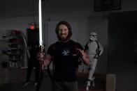 Eladó a fénykard, mellyel levágták Darth Vader lábait 1