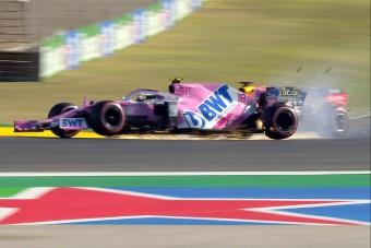 F1: Lángoló autó, ütközés a szabadedzésen