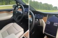 Robotpilótára kapcsolt Tesla ütközött rendőrautónak 2