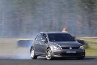 A V8-as Volkswagen Golf látványára nem lehet eléggé felkészülni