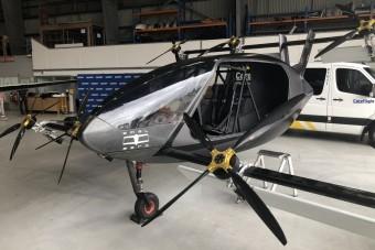 Elektromos óriásdrón mentőhelikopter helyett