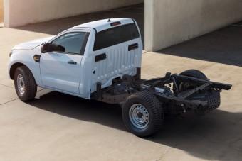 Már fülkés alvázként is kapható a Ford Ranger