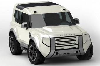 Elsőkerék-hajtású kistestvért kap a Land Rover Defender