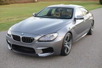A kéziváltós BMW M6 Gran Coupé ritkább, mint gondolnád