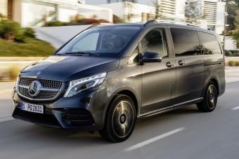 Légrugózás teszi kényelmesebbé a Mercedes minibuszát