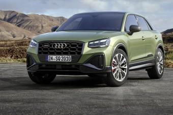 Dögösebb, de nem erősebb az Audi legkisebb sport-crossovere