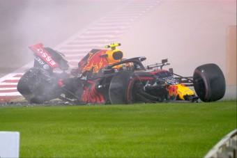 F1: Ripityára tört a Red Bull az edzésen