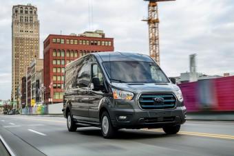 350 kilométeres hatótávval érkezik a Ford E-Transit