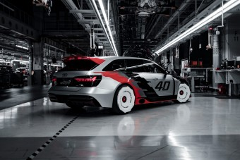Legendás versenyautó nyomán készült az Audi RS 6 GTO
