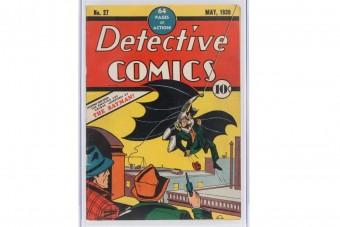Több száz milliót érhet az első Batman-képregény