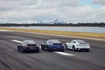 A 911 Turbo S-hez már jó, ha van egy kifutópálya