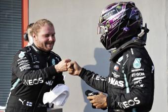 F1: Hamilton elismerést követel Bottasnak