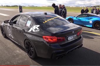 Ezt tudja egy 1100 lóerősre húzott új BMW M5