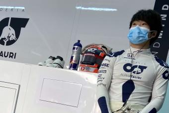 F1: Pályán a Red Bull japán ifjonca