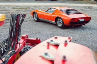 Az első jobbkormányos Lamborghini Miura