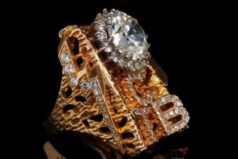 Eladó Elvis Presley óriási gyémántgyűrűje