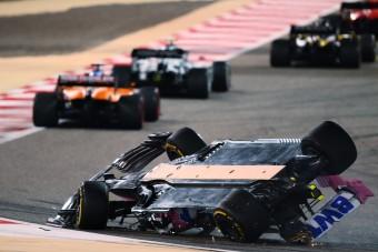 """F1: """"A semmiből"""" öklelték fel a Racing Point pilótáját"""