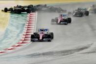 F1: Kiderült, mi történt Stroll autójával Isztambulban 1