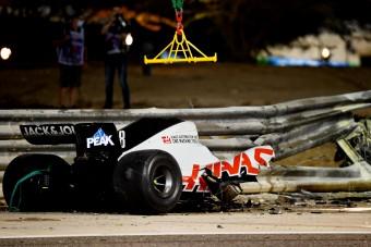 F1: A Haas cserbenhagyta Grosjeant a baleset után