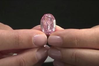 Szinte felfoghatatlan áron kelt el egy gyémánt, de mégsem rekord