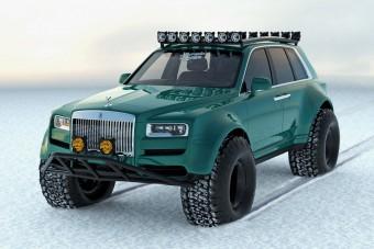 Ez a Rolls-Royce-koncepció készen áll a világvégére