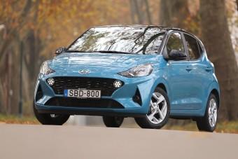 Kis autó nagy tudással - Hyundai i10