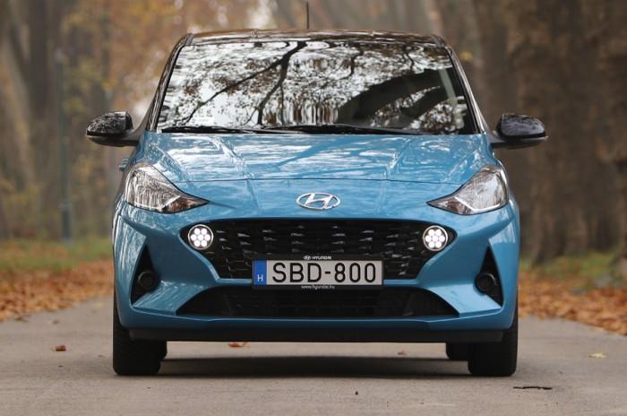 Kis autó nagy tudással – Hyundai i10 5