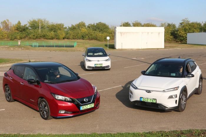 Ezek a magyarok kedvenc elektromos autói idén 5