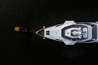 A világ végén is fényűző luxust ad ez a 30 milliárdot érő jégtörő jacht