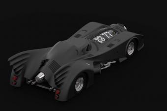 Ez a kis Batmobil-óra egy iszonyat drága játékszer